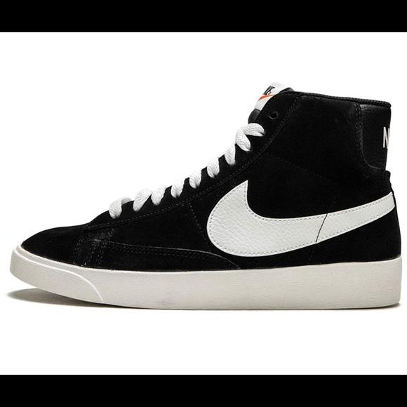 Nike Blazer Mid Vintage Schuhe schwarz weiß im WeAre Shop